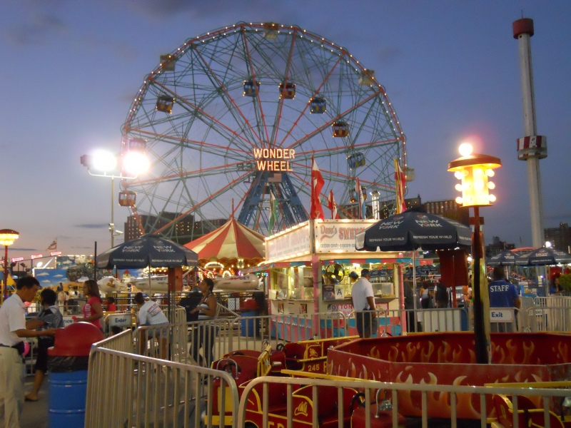 The Amusement Parks Of Coney Island